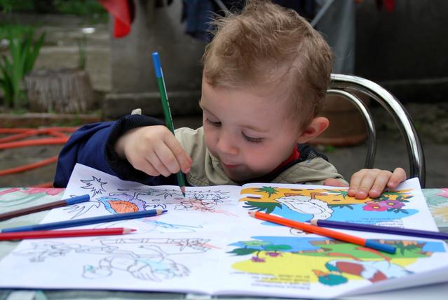 Эстетическое развитие ребенка  от двух до трех лет
