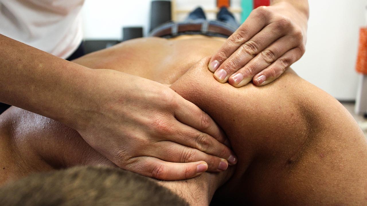 Китайский массаж - техника надавливания