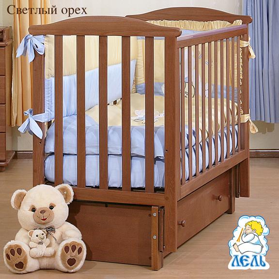 Детская кроватка Лютик