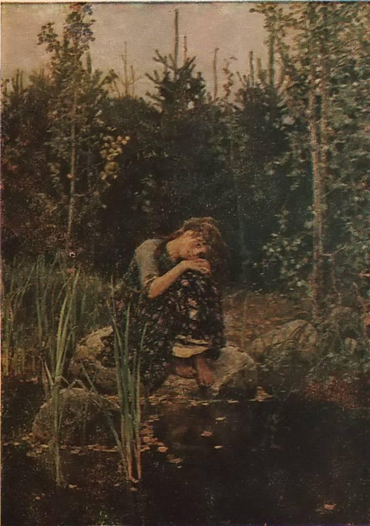 В. М. Васнецов - Аленушка