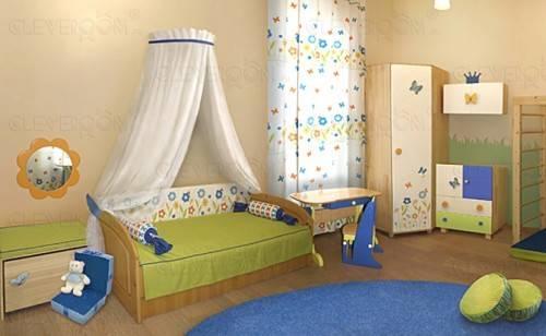 Дизайн в комнате для девочки