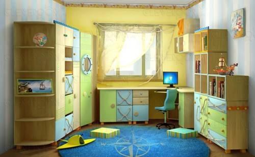 Меблировка комнаты для мальчика