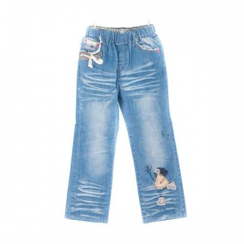 Светло-голубые джинсы для девочки. Цена 1000руб.
