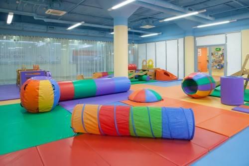 Детский спортивный центр изнутри