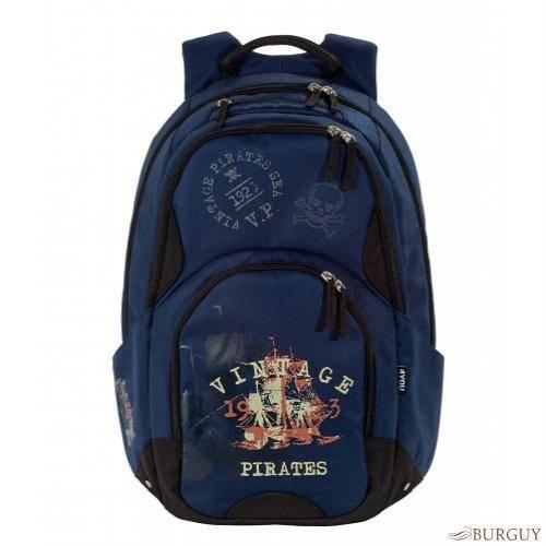 Синий рюкзак для школьника