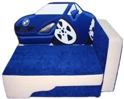 Детский диван Волшебная машина