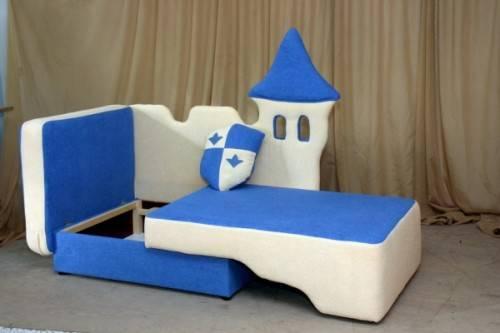 Детский диван Волшебный замок