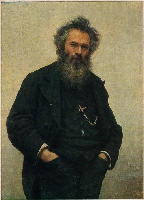 Иван Николаевич Крамской - Портрет художника Ивана Ивановича Шишкина