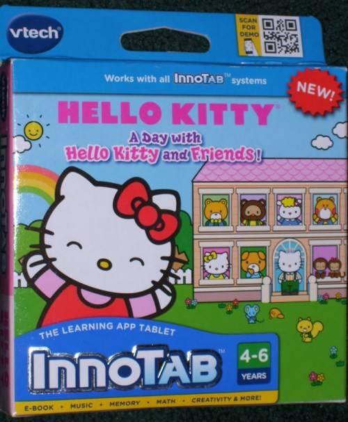Обучающая система развивающих игр NEW Vtech InnoTab Learning Game - Hello Kitty