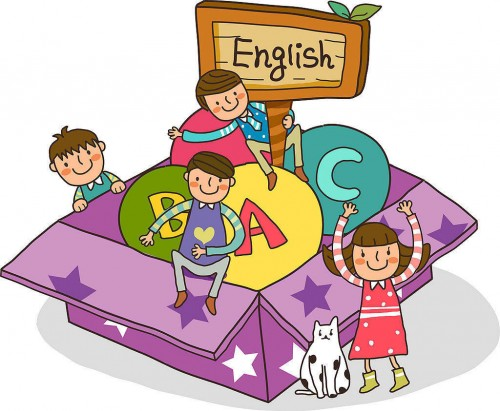 Дети учат язык