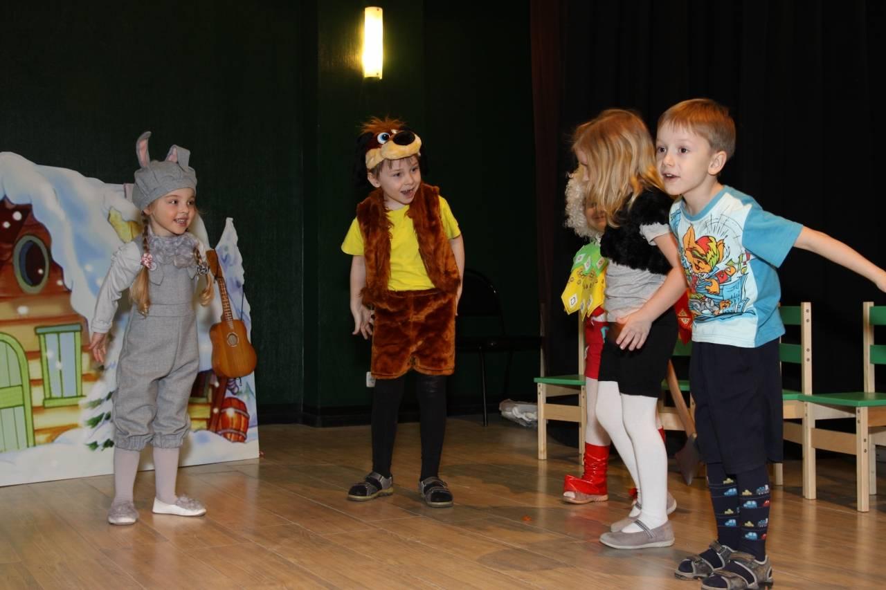 Картинка театральный кружок для детей
