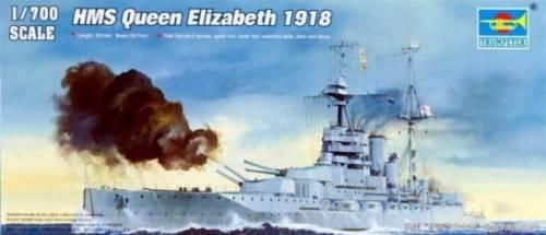 Модель Линкор HMS Queen Elizabeth