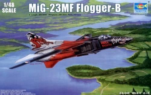 Модель МиГ-23МФ