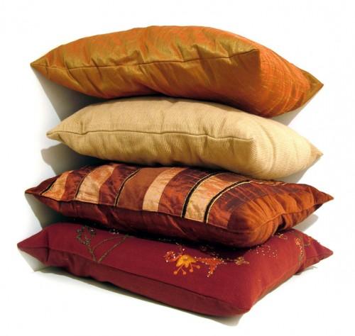 Приподнятые подушки