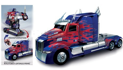 Радиоуправляемая машинка-трансформер Optimus Prime