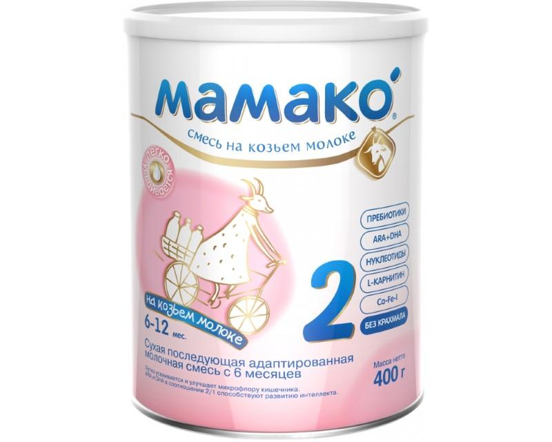 молочная смесь мамако