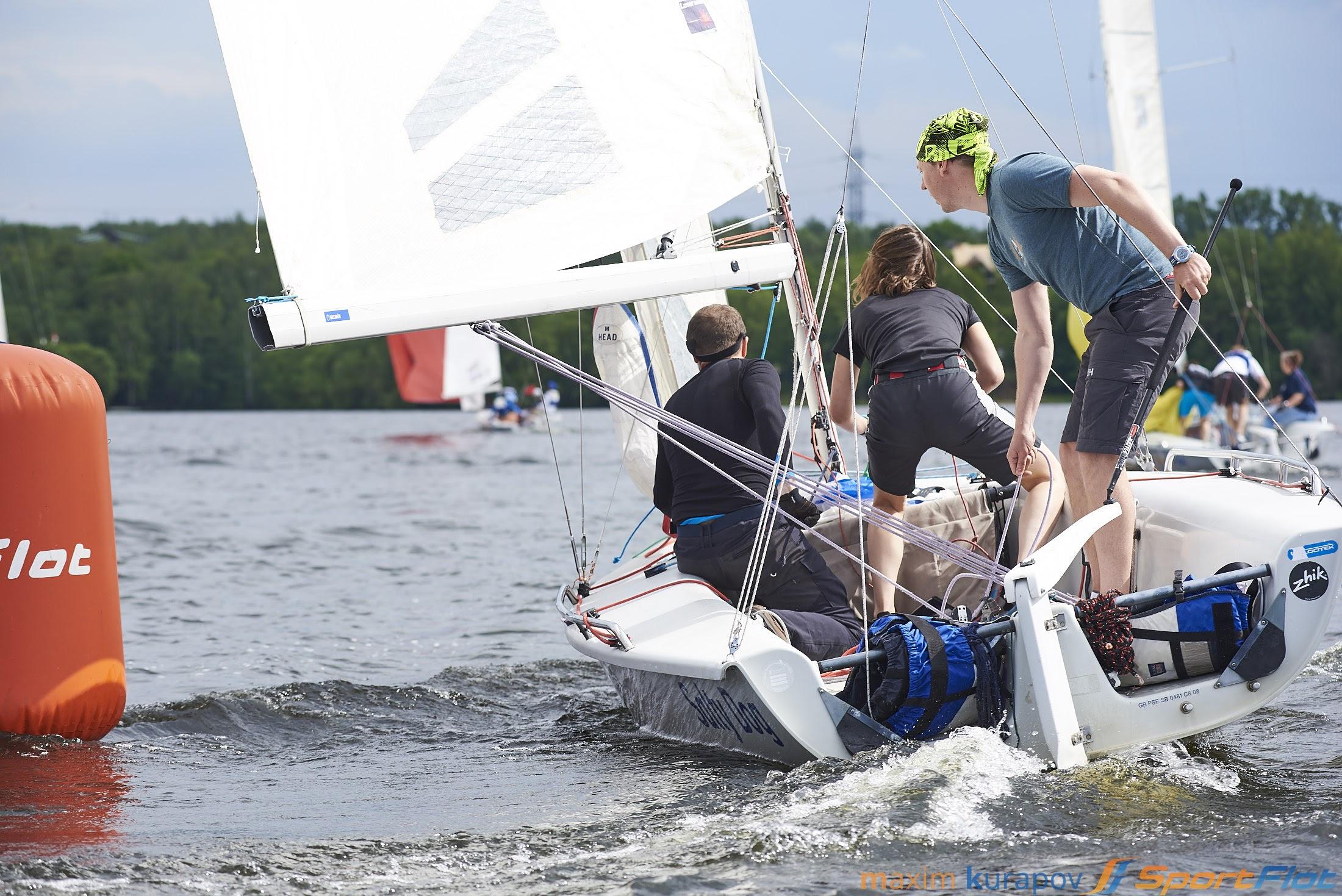Обучение яхтингу детей