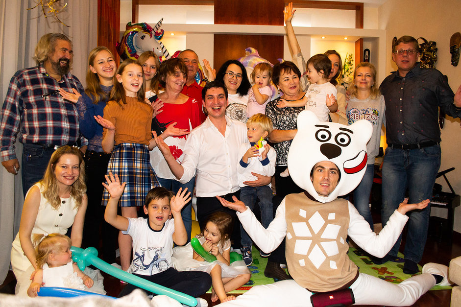 Домашний праздник для девочки в Москве под ключ доверьте специалистам агентства