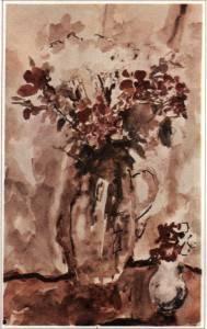 А. Фонвизин. Красные цветы.