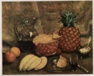 И. Машков. Ананасы и бананы.